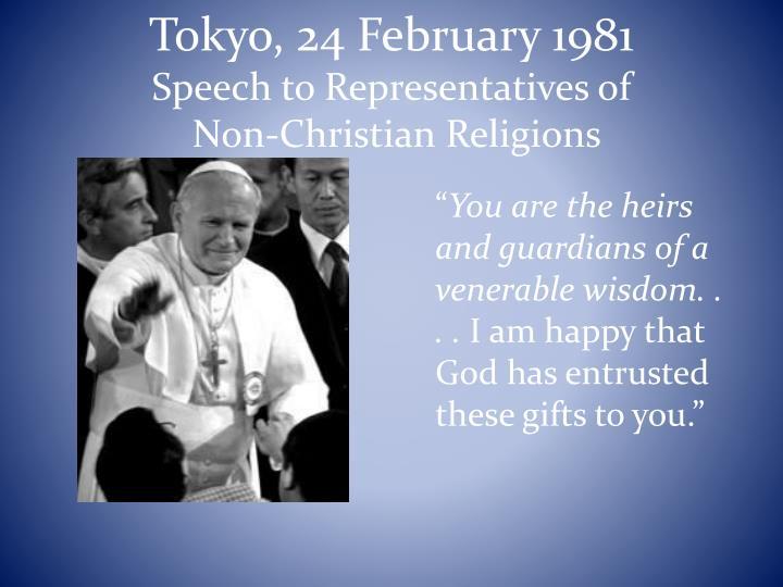 Tokyo, 24 February 1981