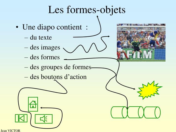 Les formes-objets