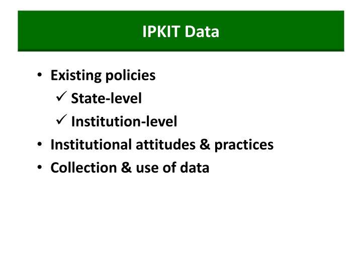 IPKIT Data