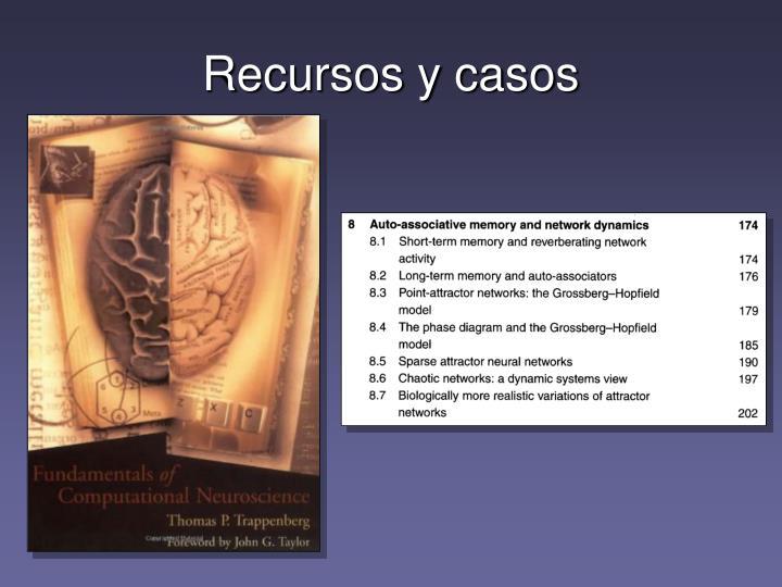 Recursos y casos