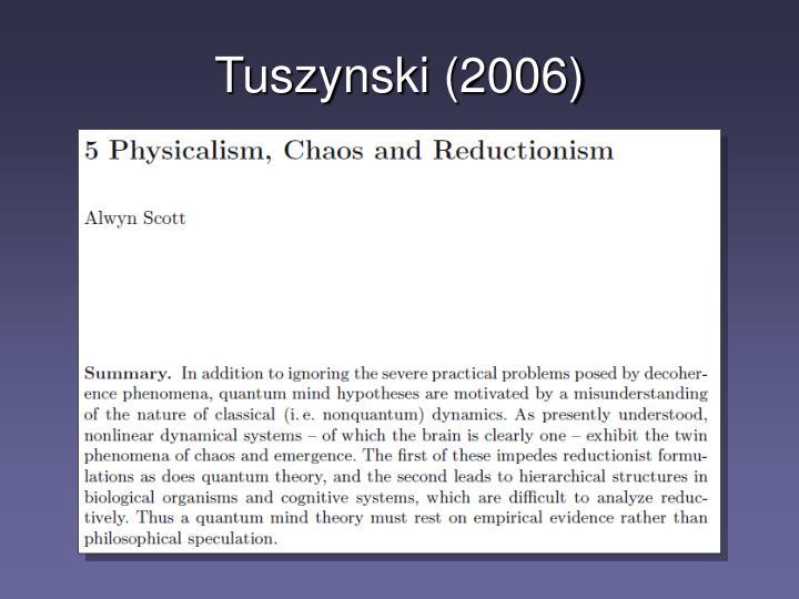 Tuszynski (2006)