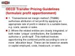 oecd transfer pricing guidelines formulaic profit apportionment