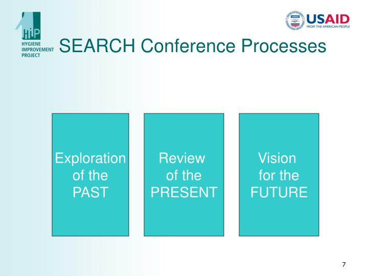 SEARCH Conference Processes