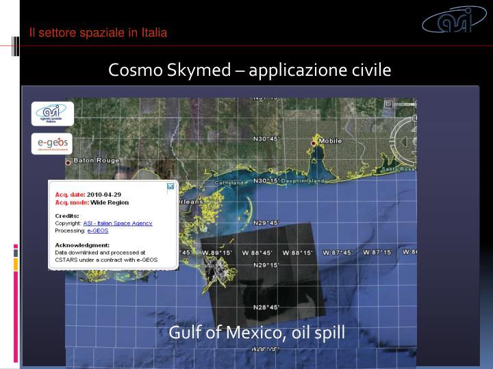 Il settore spaziale in Italia