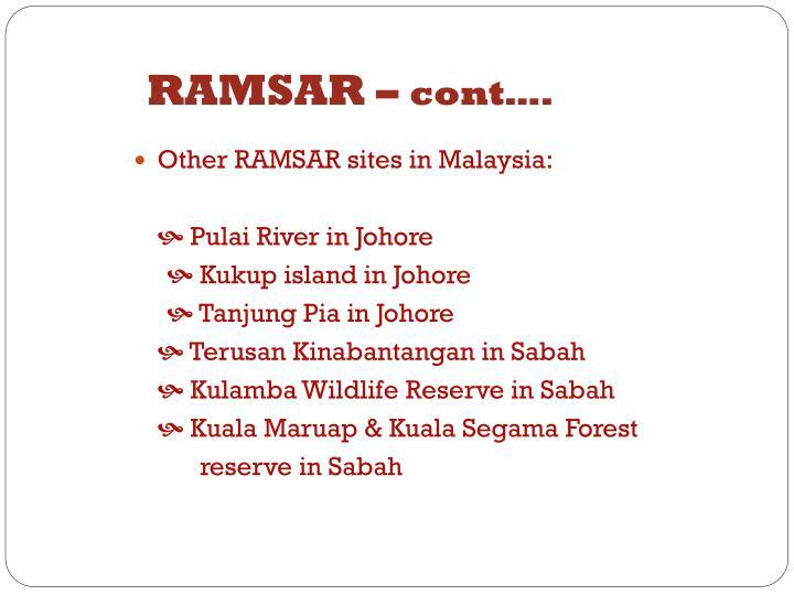 RAMSAR –