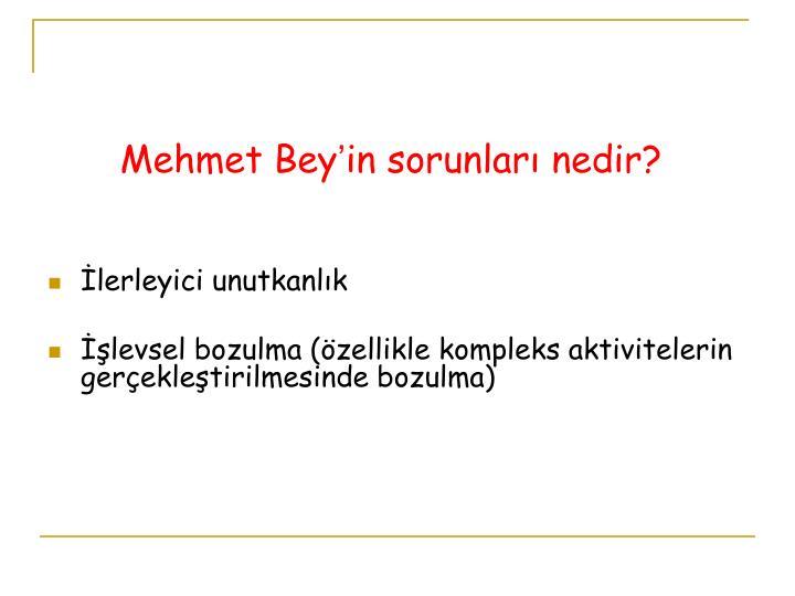 Mehmet Bey