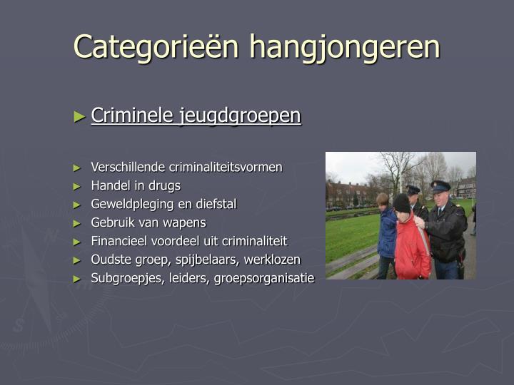 Criminele jeugdgroepen