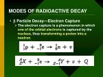 modes of radioactive decay5