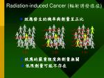 radiation induced cancer