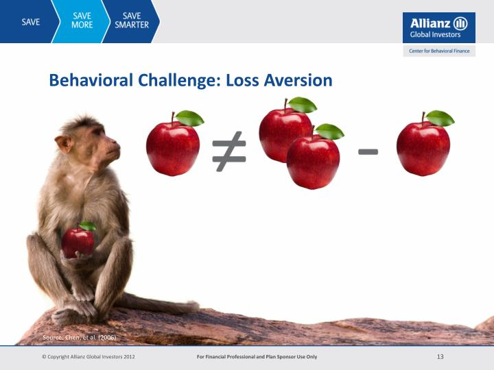 Behavioral Challenge: Loss Aversion