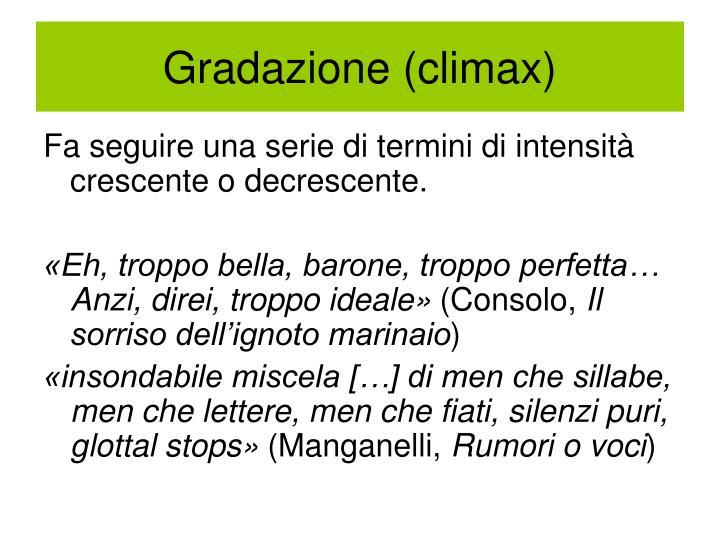 Gradazione (climax)