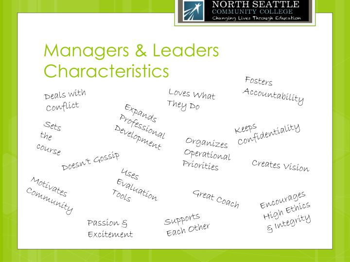 Managers & Leaders