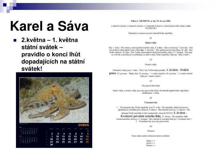 Karel a Sáva