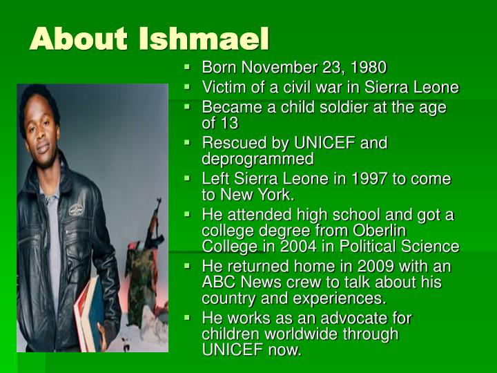 About ishmael