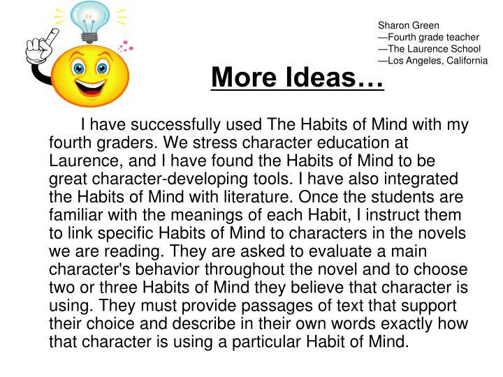 More Ideas…