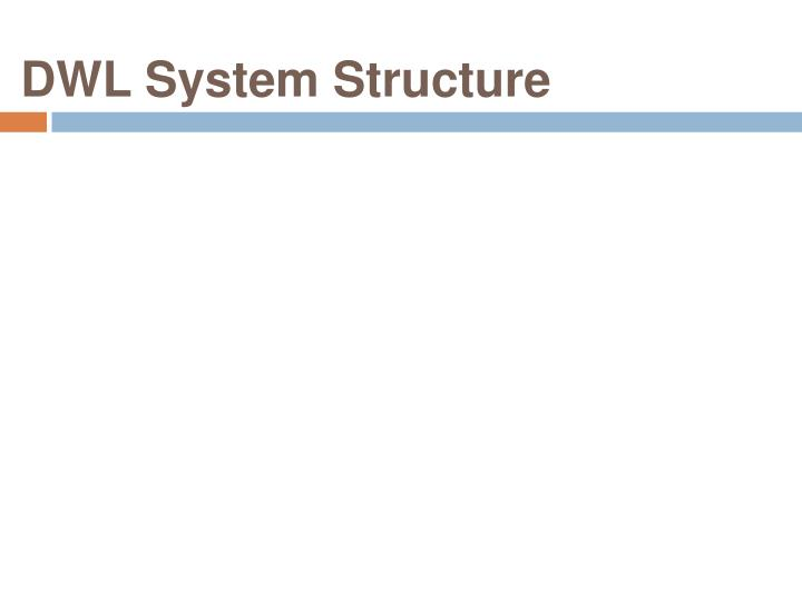 DWL System Structure