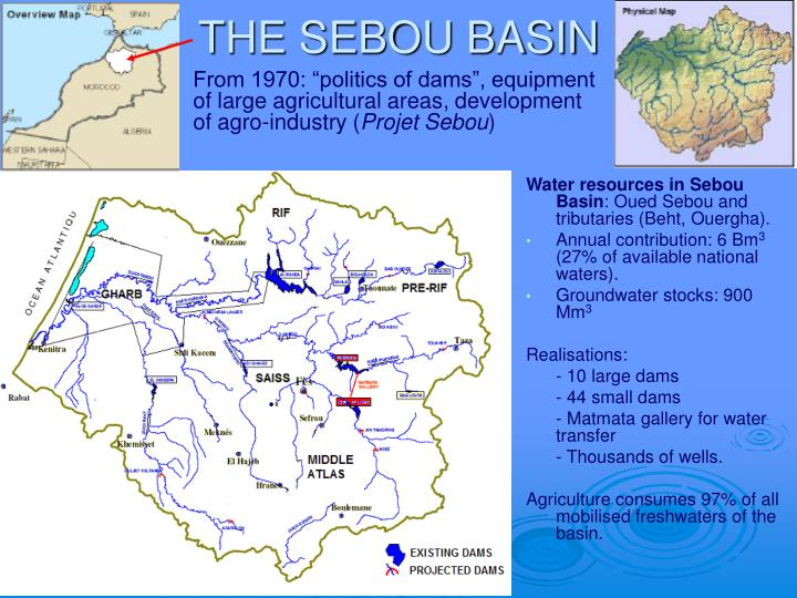 The sebou basin