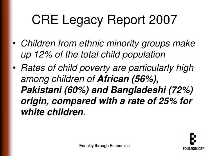 CRE Legacy Report 2007