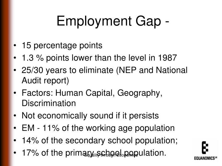 Employment Gap -