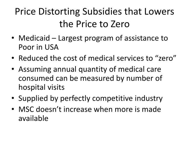 Price Distorting