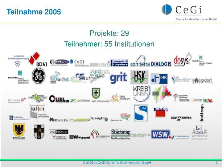 Teilnahme 2005