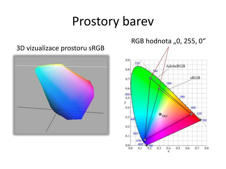 Prostory barev