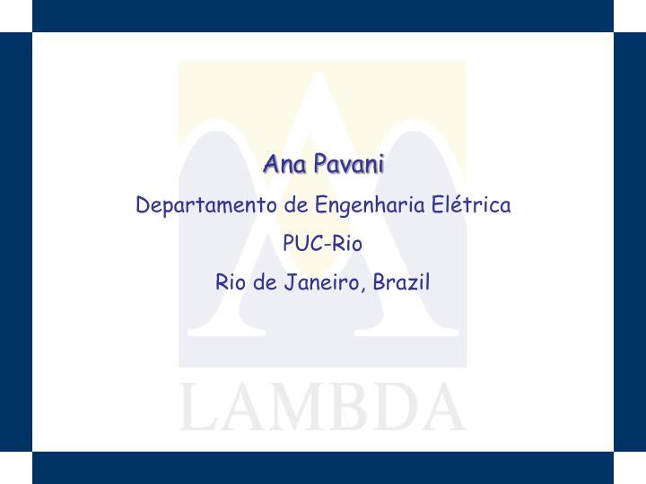 Ana Pavani