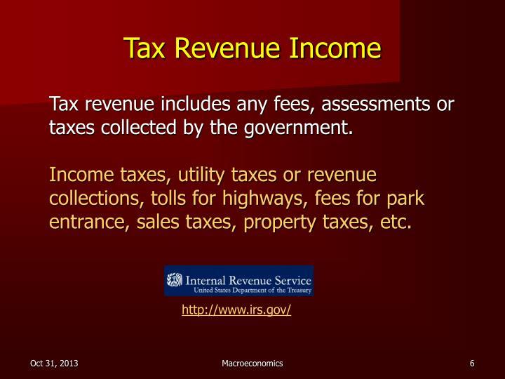Tax Revenue Income