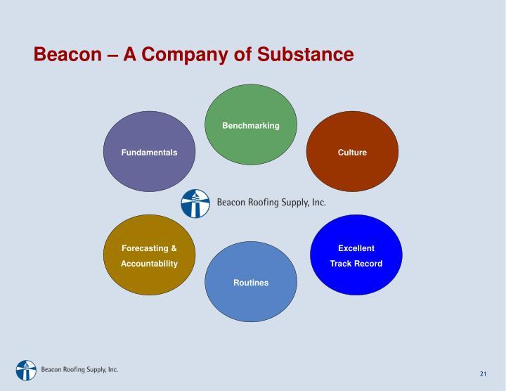 Beacon – A Company of Substance