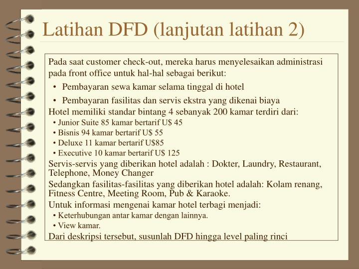 Latihan DFD (lanjutan latihan 2)