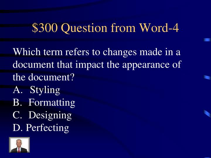 $300 Question from Word-4