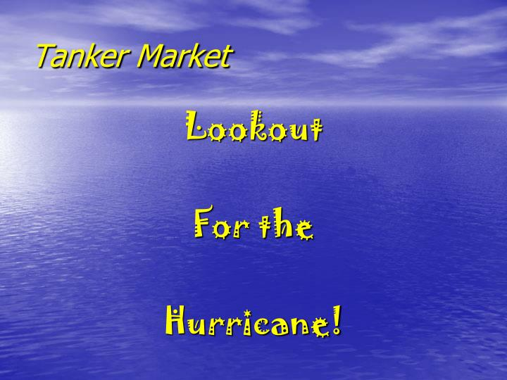 Tanker Market