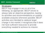 becp activities framework2