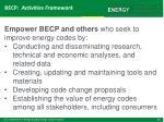 becp activities framework3