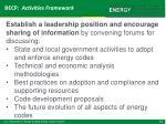 becp activities framework4