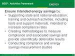 becp activities framework6