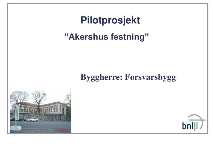 Pilotprosjekt