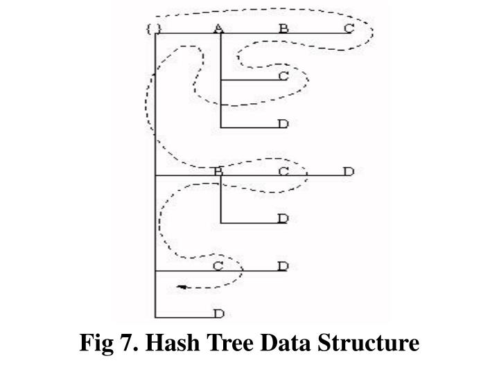 Fig 7. Hash Tree Data Structure