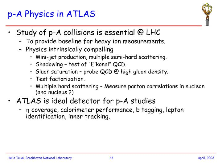 p-A Physics in ATLAS