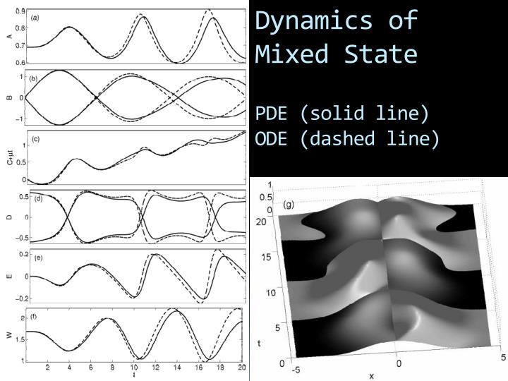 Dynamics of Mixed State