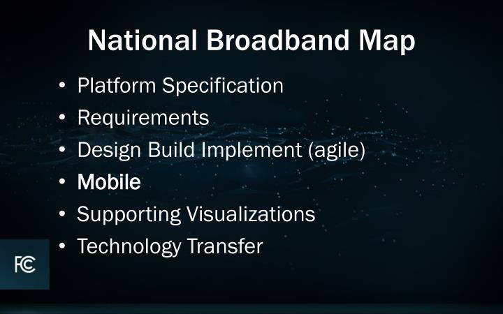 National Broadband Map