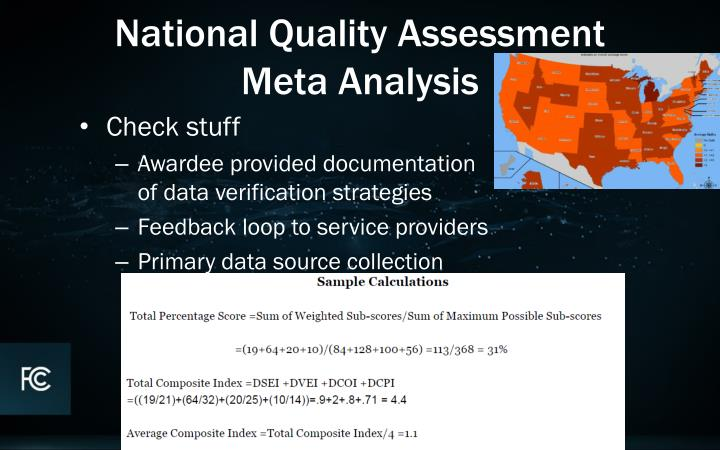 National Quality Assessment