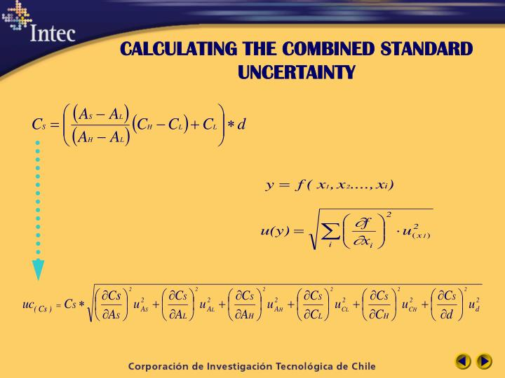 CALCULATING THE COMBINED