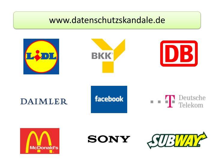 www.datenschutzskandale.de