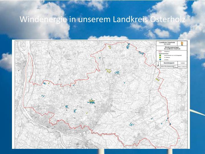 Windenergie in unserem Landkreis Osterholz