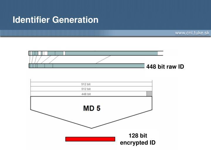 Identifier Generation