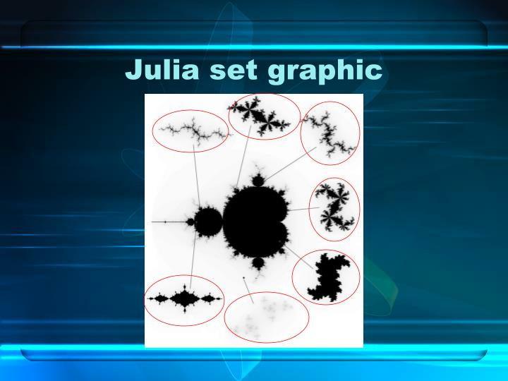 Julia set graphic
