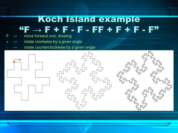Koch Island example