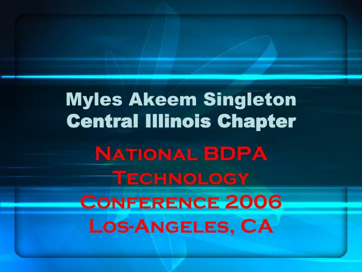 Myles akeem singleton central illinois chapter