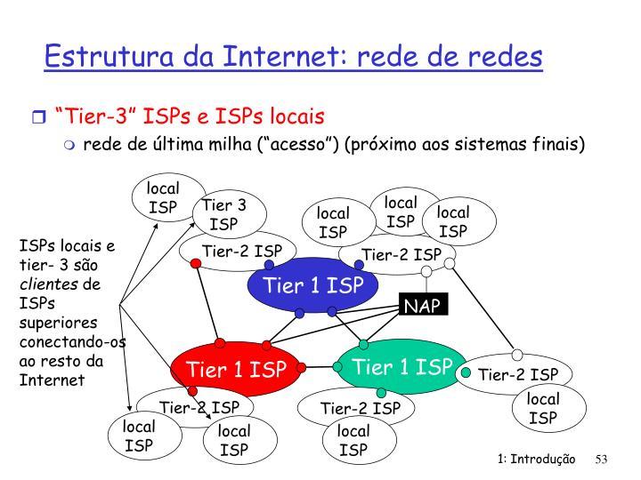 """Tier-3"" ISPs e ISPs locais"